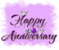 Happy Anniversary, Pat (Snooker) and Charlie!