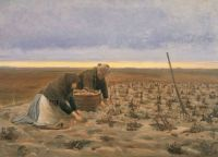 "Michael Peter Ancher, ""Potato Harvest"""