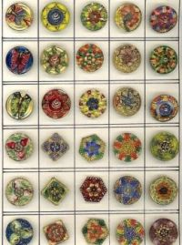 Collection of Vintage Glass Buttons