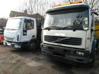 Iveco and Volvo tippers