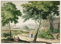 Italianizing landscape (1744)
