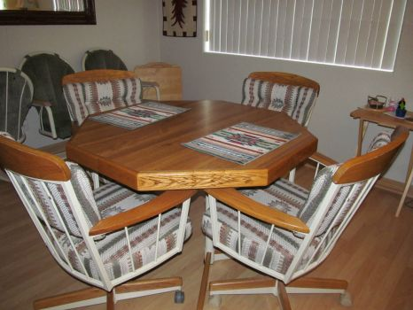 My New (old) dinette set - There is a story