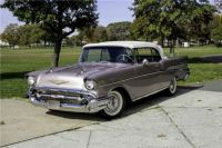 1957 Chevy Bel Air convertible!  Bandit...