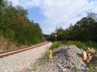 Nedokončená revitalizace železniční tratě