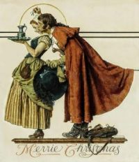 Rockwell Colonial Christmas