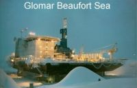 Drilling in the Beaufort Sea 1984