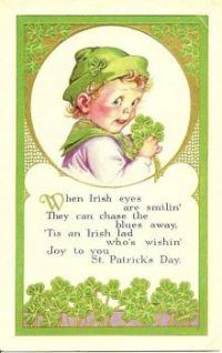 Themes Vintage illustrations/pictures - St. Patricks Day Card