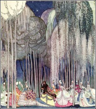 Kay Nielsen, the Twelve Dancing Princesses