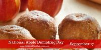 Today Is National Apple Dumpling Day!!