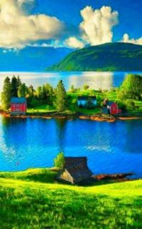 A Beautiful Quiet Place to Live  --  Norway.....