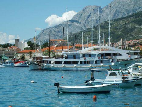 Makarska Harbour, Croatia