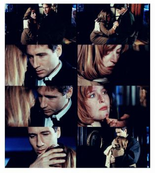 One of my favourite Mulder and Scully moments - a scene from the season 2 episode