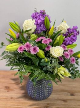 Happiness  is.....Spring Flower Bouquet.