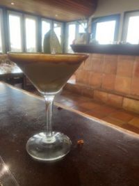 Salted Caramel Apple Martini