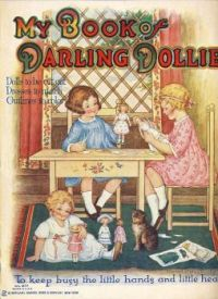 Themes Vintage illustrations/pictures - Doll book cover