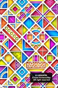3d geometric pattern g1_1v-1 (version for mobile)