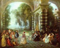 Antoine_Watteau Les plaisirs du bal
