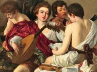 "Musicians 67 - ""The Musicians"" by Caravaggio"
