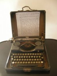 Howard Carter House typewriter