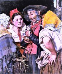 Old Man's Treasure (Das Katzchen), 1876