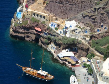 Greece - Port of Santorini