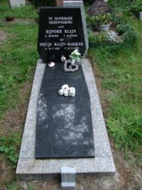 The grave of my grandfather and grandmother.