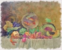 Vintage Still-Life Watercolor
