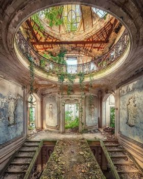 Abandoned mansion somewhere in Europe