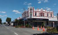 Old Hotel in Opotiki, Bay of Plenty NZ