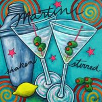 art .. retro martini