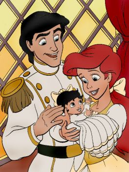 Eric, Ariel, and Melody