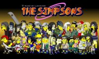 The Simpsons - Naruto Style