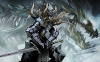 Dark Dragon Warrior (Large)