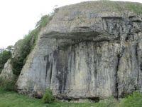 Kilnsey Crag, Wharfedale. Yorkshire Dales, UK
