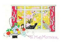 Themes Vintage illustrations/pictures - Birds at the Window