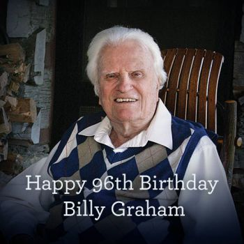 Happy Birthday Billy Graham!