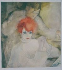 The Red-Headed Woman (Thoughts at the Hairdresser's)