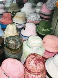 Little hats market Hanoi