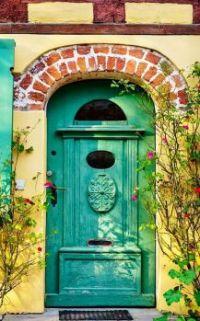 Interesting Door & Building Design