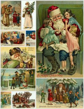 Vintage Christmas Cards #1