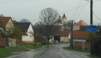 Sepekov v dešti a z auta - Sepekov in the rain and out of the car, CR