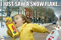 """Yep! That's the South...preparing  for the big 2"""" snow!"""