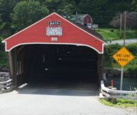 Bath covered bridge.