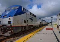 Amtrak #-4 at LaP engine #-7  48-pc