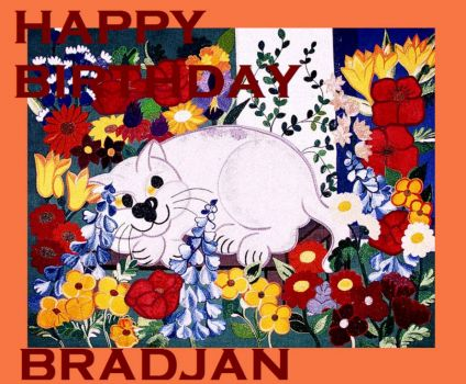 Happy birthday Bradjan :-)