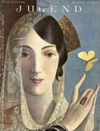 Vintage Magazine Covers - Jugend 1927