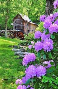 Glade Creek Mill -- West Virginia...