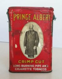I Remember...... Great Uncle Ernest And His Prince Albert Tobacco