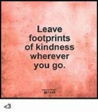 Leave Footprints...