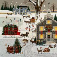 Wysocki-Cape Cod Christmas